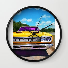 American Muscle Wall Clock