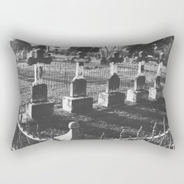 Cemetery Rectangular Pillow