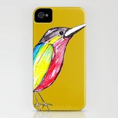 Colour bird Slim Case iPhone (4, 4s)