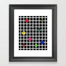 Geometric Fantasy 2 Framed Art Print