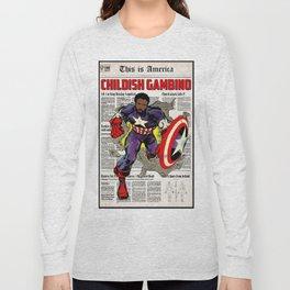 DANGEROUS GAMBINO Long Sleeve T-shirt