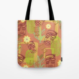 Happy Hour At The Tiki Room Tote Bag
