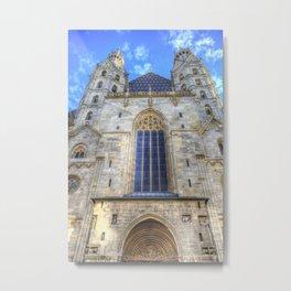 St Stephen's Cathedral Vienna Metal Print