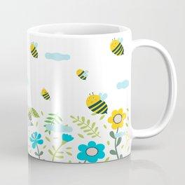 Bee Flaying Coffee Mug