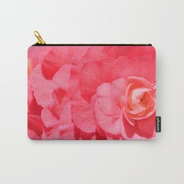 Pink Rose Donegal Carry-All Pouch