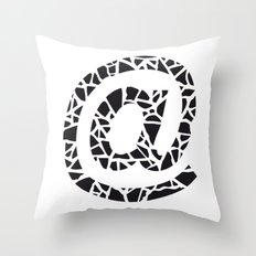 At Throw Pillow