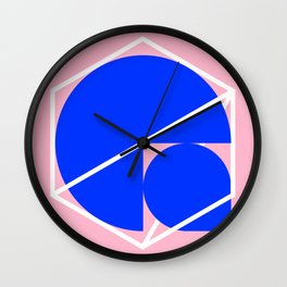 Stuck In A Cage Wall Clock