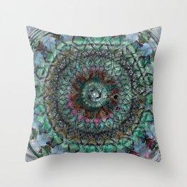 Secrets Of The Mayan Orbs Throw Pillow