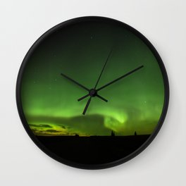 Natures Night Lights. Wall Clock