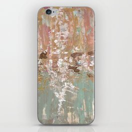 Spring Poetry - Abstract Art iPhone Skin
