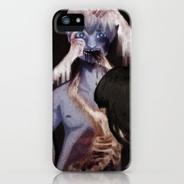 Brother Don't Go iPhone Case