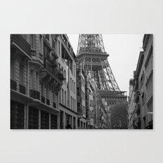 Et voilà la tour Canvas Print