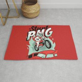 Stunt Pug Rug