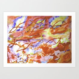 Infinity Abstract Art Print