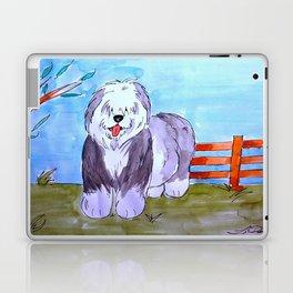 Old English Sheepdog Laptop & iPad Skin