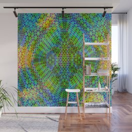 Colorful diffraction Wall Mural