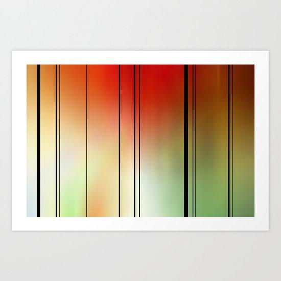 Light spectrum. Art Print