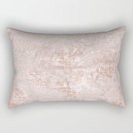 texture pale terracotta Rectangular Pillow