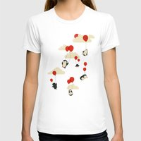 balloons T-shirts featuring We Can Fly! by Jay Fleck