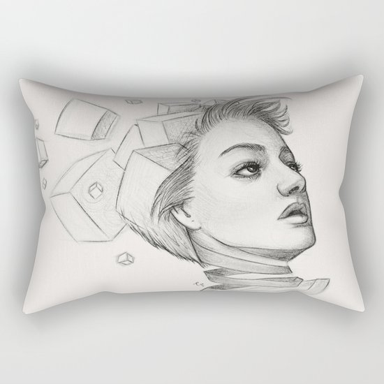Thougths Rectangular Pillow