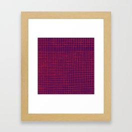 Left - purple Framed Art Print