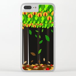 The time Clear iPhone Case