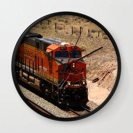BNSF Engine Wall Clock