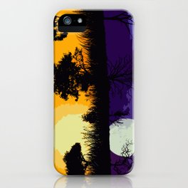 It's Not Always A Stark Contrast iPhone Case