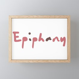 Epiphany From BTS Jin Framed Mini Art Print