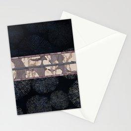 Sea Urchin Contrast Obi Print Stationery Cards