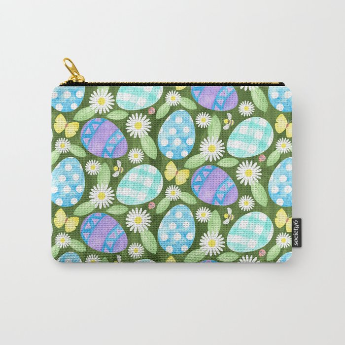 Happy Easter! - watercolor Carry-All Pouch
