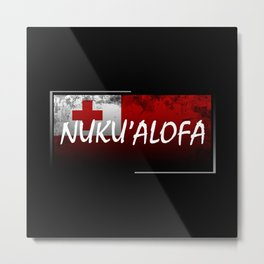 Nuku'alofa Metal Print