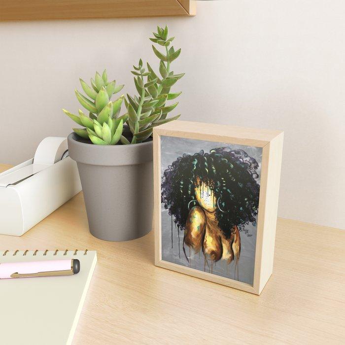 Naturally LXVIII Framed Mini Art Print