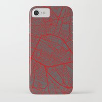 brussels iPhone & iPod Cases featuring Brussels by Map Map Maps