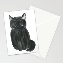 narcissistic cat Stationery Cards