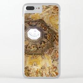 Brunelleschi Cupola, Florence Duomo Clear iPhone Case
