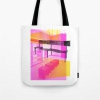 bauhaus Tote Bags featuring Bauhaus by mJdesign