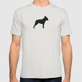 Boston Terrier Silhouette(s) T-shirt