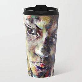 Reverie - Ethnic African portrait Travel Mug