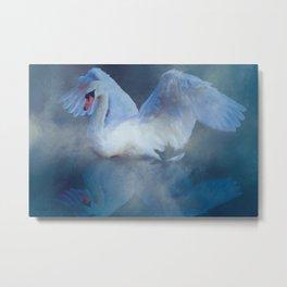 Swan Song & Dance Metal Print