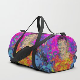Superhero Type Art Comics SM Duffle Bag