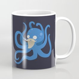 Octobeard Blue Mix Coffee Mug