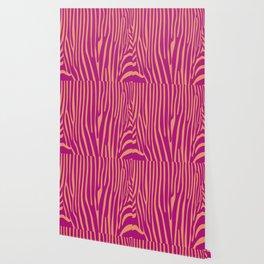 Funky zebra v1 Wallpaper