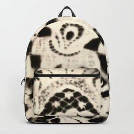 Nana's Lace, b/w Backpack
