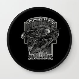 Kessel Run Wall Clock