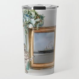 Santa Monica Pier French Decor Travel Mug