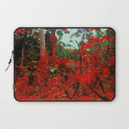 Singapore Bot. Garden 1 - RED Laptop Sleeve