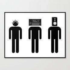 Music Heads Canvas Print