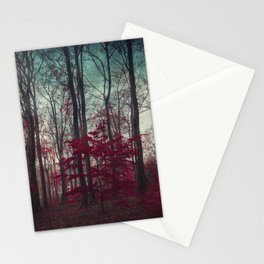 a.maze - enchanted forest Stationery Cards