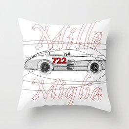 RennSport Speed Series: Mille Miglia Throw Pillow